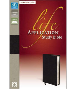 NIV Life Application Study Bible Personal Size