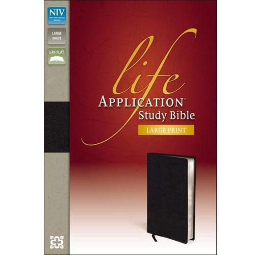 NIV Life Application Study Bible | Large Print