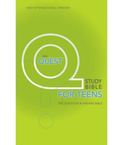 NIV Quest Study Bible | for Teens