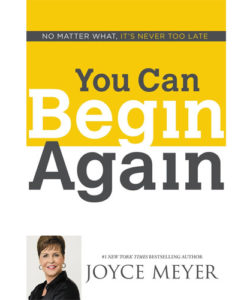 You Can Begin Again | Meyer