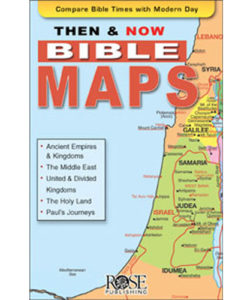 Then And Now® Bible Maps Pamphlet