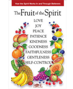 Fruit of The Spirit Pamphlet