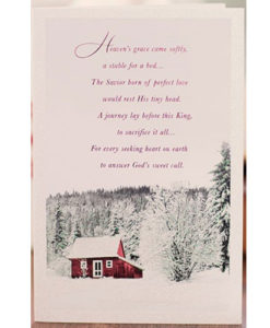 Light the World | Heaven's Grace | 18 Christmas Boxed Cards