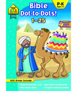 Bible Dot to Dots 1-25