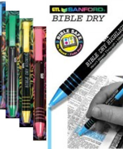 Bible Dry Pencil Highlighter Carded