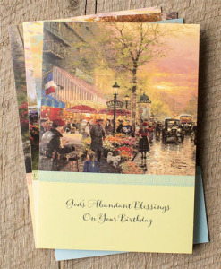 Birthday | Thomas Kinkade | 12 Boxed Cards