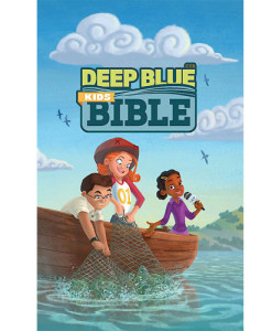CEB Common English Deep Blue Kids Bible