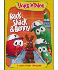 Rack, Shack, and Benny – Repackaged – VeggieTales – DVD
