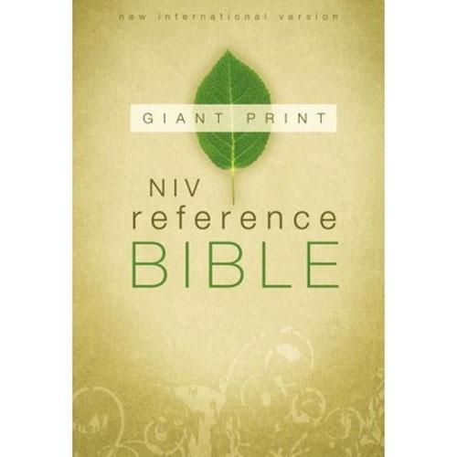 NIV Reference Bible | Giant Print