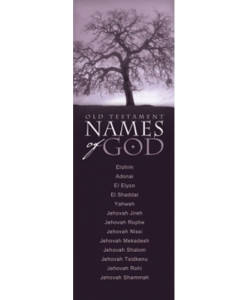 Names Of God In Old Testament Bookmark