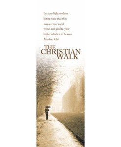 Christian Walk Bookmark