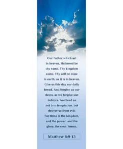 Lord's Prayer Adult Bookmark