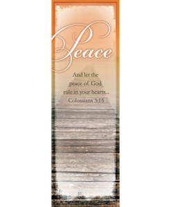 GOD's Gift Of Peace Bookmark