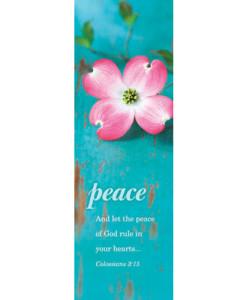Peace Bookmark