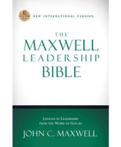 NIV The Maxwell Leadership Bible