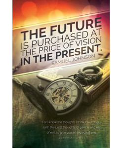 New Year's Bulletin The Future is Purchased | Package of 100