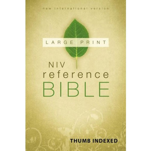 NIV Reference Bible | Large Print | Thumb-Indexed