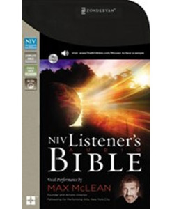 NIV Listener's Audio Bible