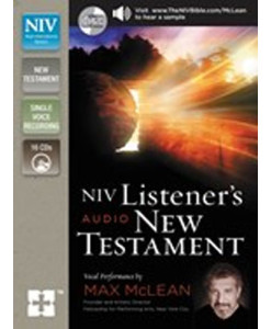 NIV Listener's Audio New Testament