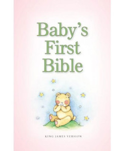 KJV Baby's First Bible Girl