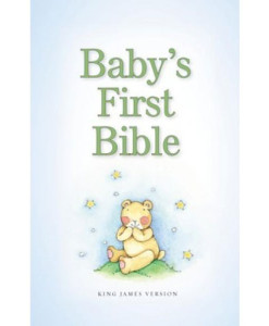 KJV Baby's First Bible Boy