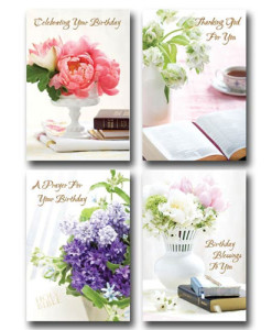 Birthday | Classic KJV | 12 Boxed Cards
