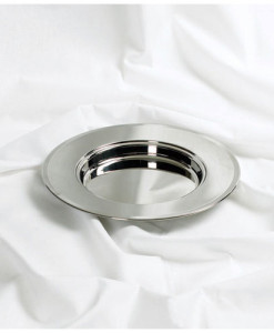 Silver Stacking Bread Plate