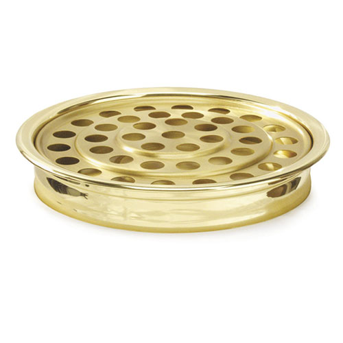 Brasstone Aluminum Communion Tray