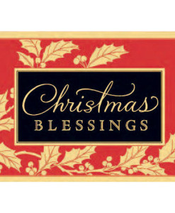Christmas Blessings to You | 18 Christmas Boxed Cards