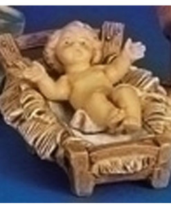 "Baby Jesus with Manager for Fontanini® 5"" Nativity Classic Collection"