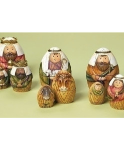 Nativity Nesting - Holy Family/3 Kings/Shepherd