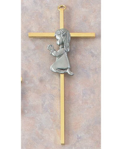 "Baby Girl 7"" Cross"