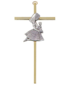 "First Communion Girl 7"" Cross"