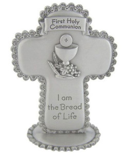 "First Communion 3.5"" Standing Cross"