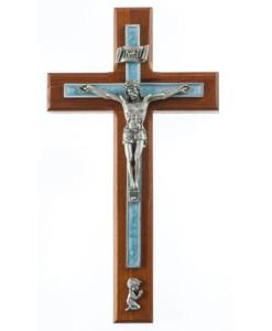 "Cherry 10"" Boy Crucifix"