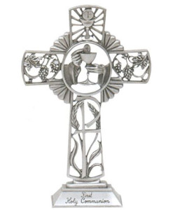 "First Communion 6"" Standing Cross"