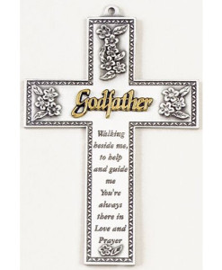 "Godfather 5"" Wall Cross"