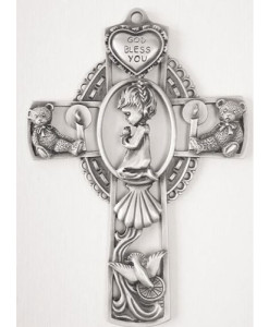 "Baby Girl 5"" Wall Cross"