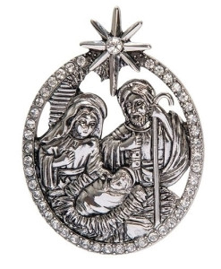 Nativity Pin 2""