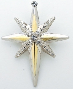 Christmas Star Story Pin 2""