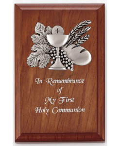First Holy Communion Plaque