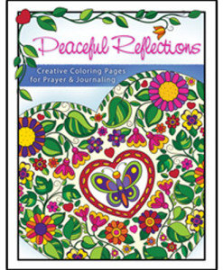 Adult Colouring Book - Peaceful Reflections: Creative Coloring Pages for Prayer