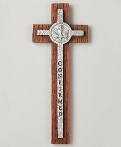 Confirmation Wall Cross 8 ½ inch