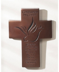 Confirmation Reflections of Love 7 inch Wall Cross