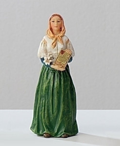 St. Dymphna Figure Patrons and Protectors