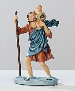 St. Christopher Figure Patrons and Protectors