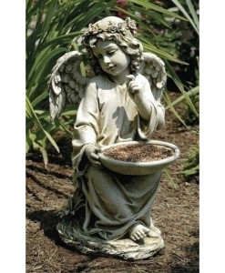 Sitting Angel Bird Feeder