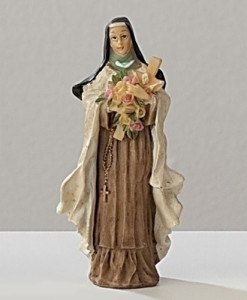 St. Therese Figure Patrons and Protectors