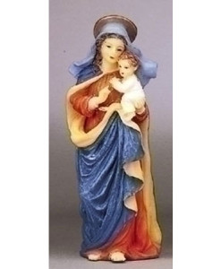 Blessed Virgin Mary Figure Patrons and Protectors