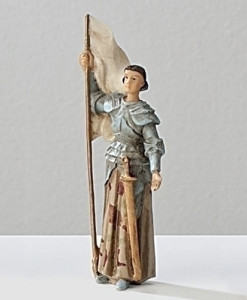 St. Joan of Arc Figure Patrons and Protectors